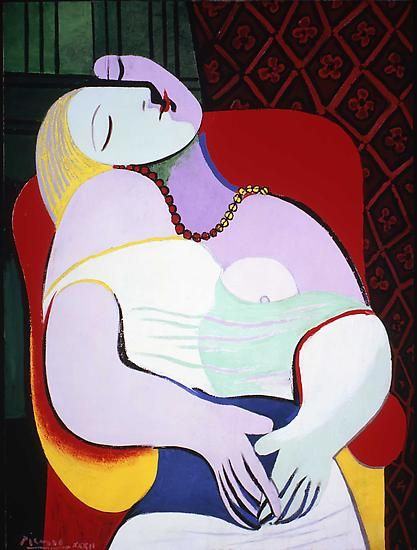 "Pablo Picasso, ""The Dream,"""
