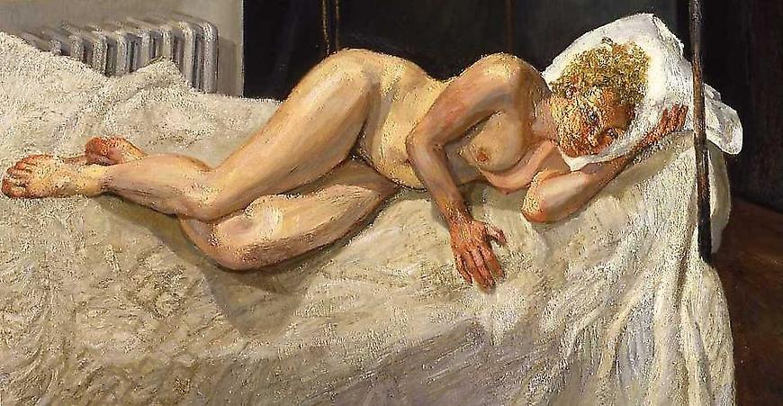 "Lucian Freud, ""Ria, Naked Portrait,"" 2006-7"