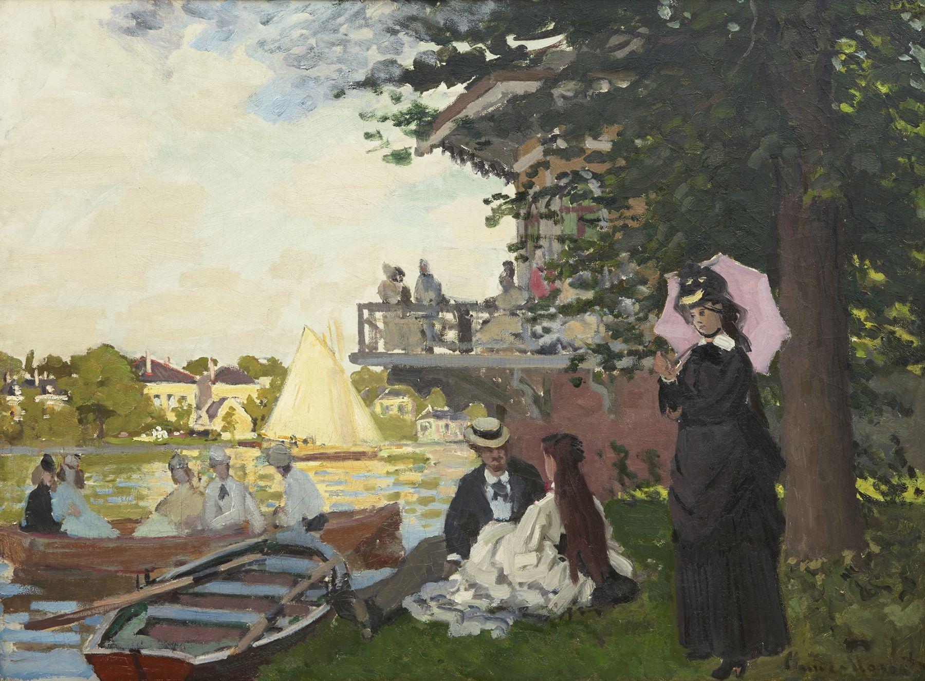 Claude Monet, L'Embarcadère, 1871