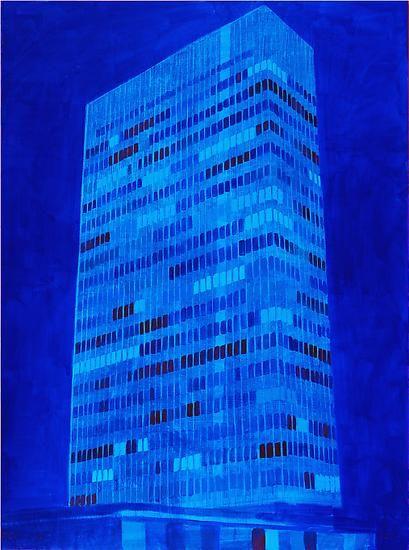 """Enoc Perez, """"Lever House, NY,"""" 2010"""