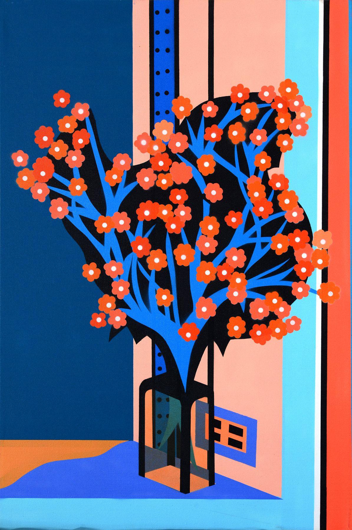 Flower Study by Michael Callas