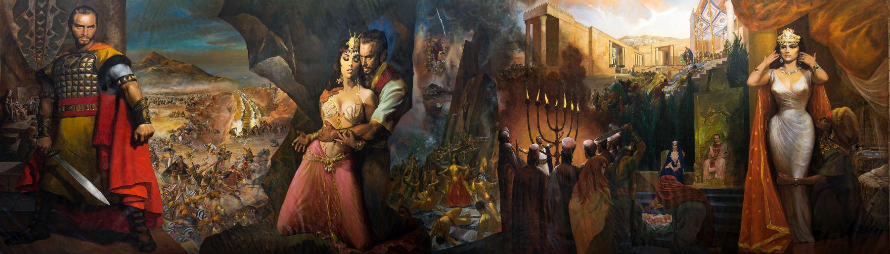 Solomon & Sheba by Symeon Shimin