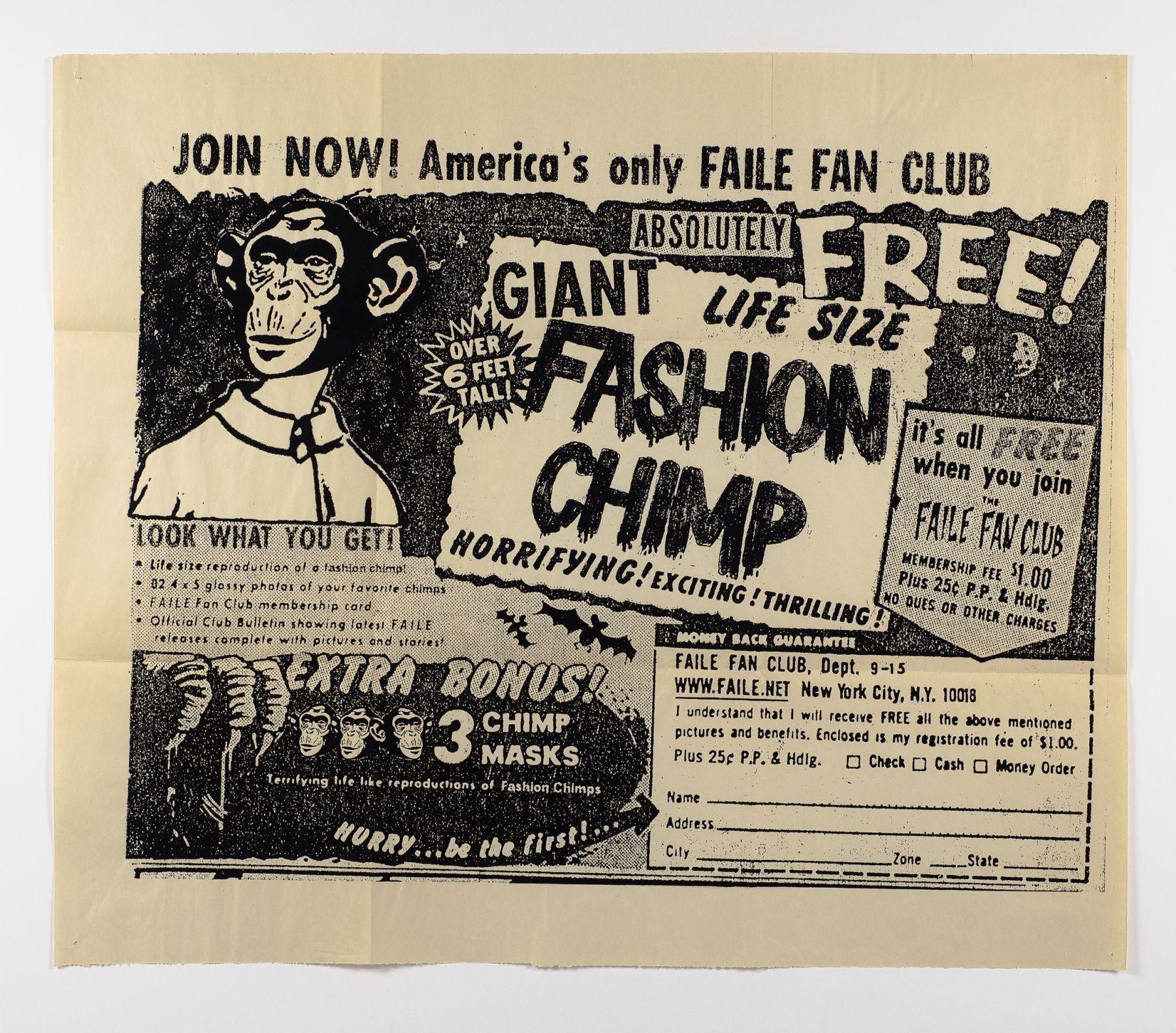 Fashion Chimp by FAILE