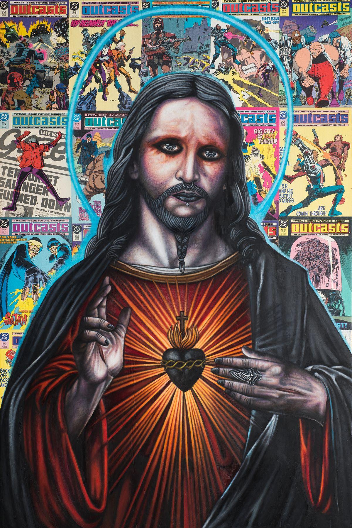 Outcasts (Jesus) by Michael LaBua