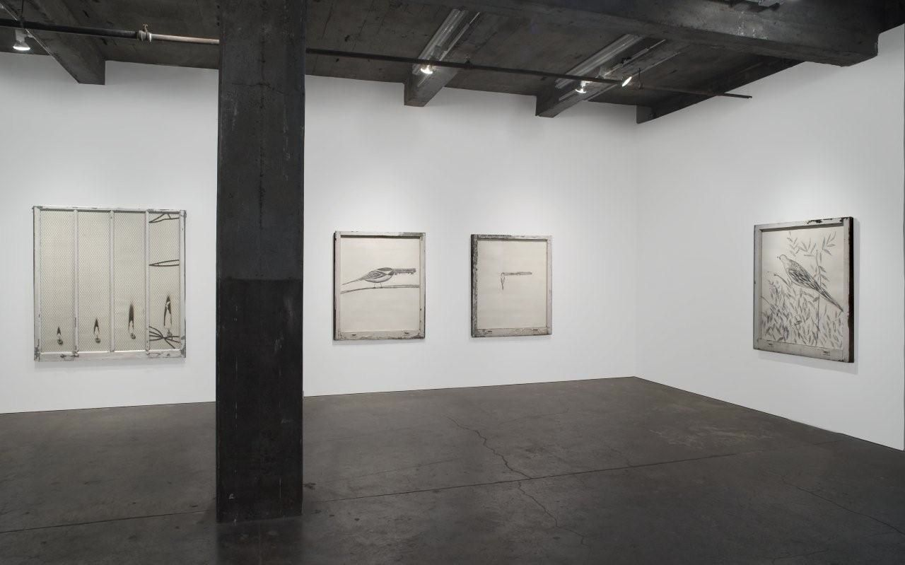 Installation view, Vahakn Arslanian, Jesus Loves Captain Sully Sullenberger, Maccarone Gallery, New York, 2009