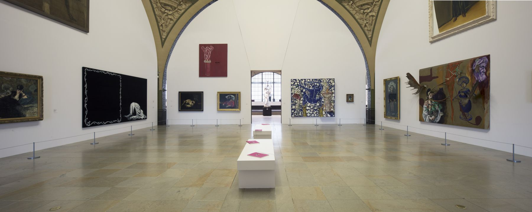 Installation view, Orsay Through the Eyes of Julian Schnabel,Musée d'Orsay, Paris, 2018