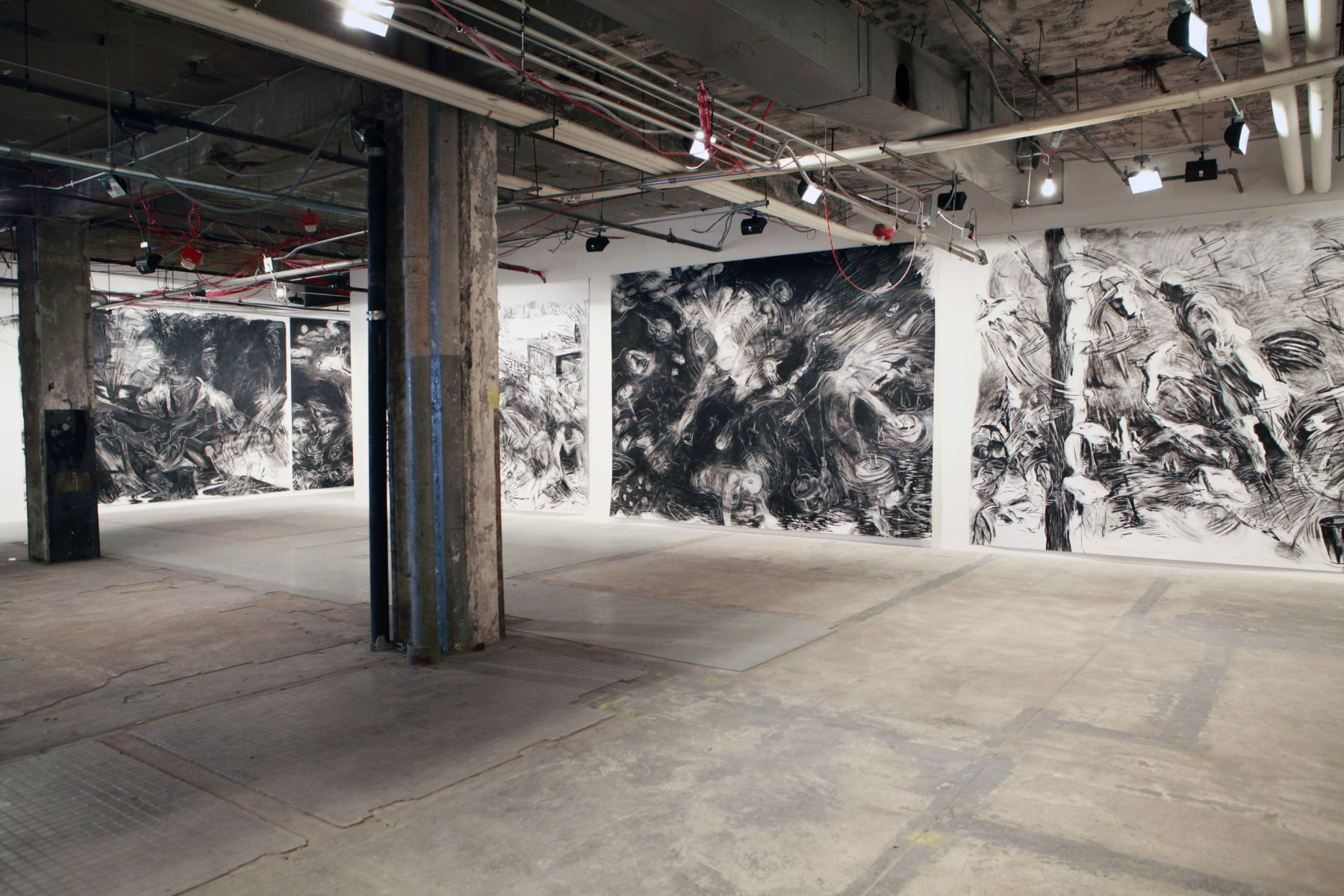 Installation view, Laurie Anderson, Boat​, Vito Schnabel, New York, 2012