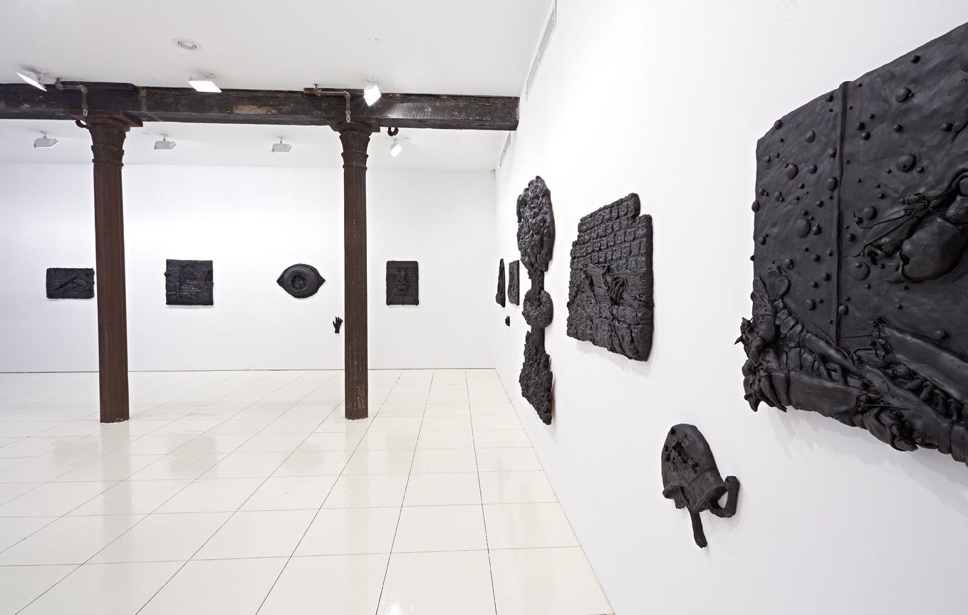 Installation view, Theo A. Rosenblum,Predator,Vito Schnabel, New York, 2014