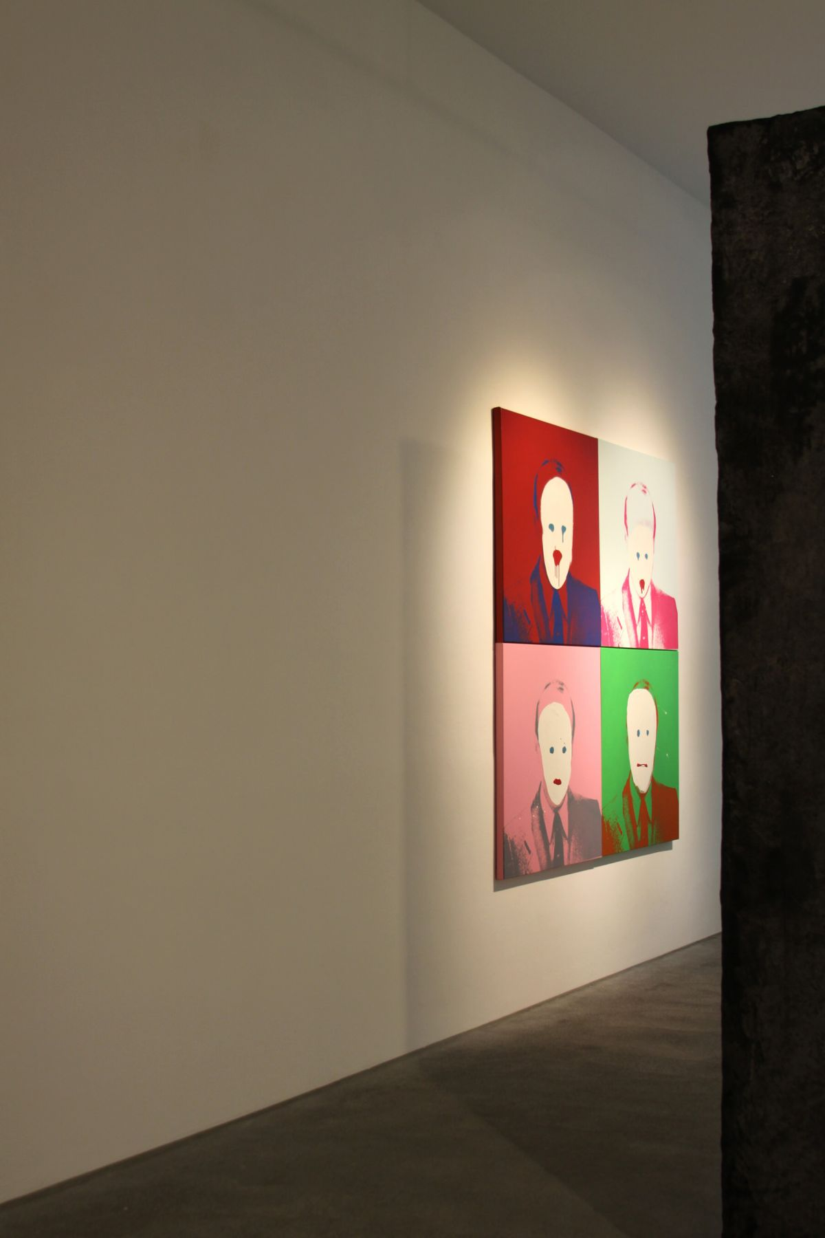 Installation view, The Bruce High Quality Foundation, The Retrospective: 2001-2010, â€‹Galerie Bruno Bischofberger, Zurich, 2010