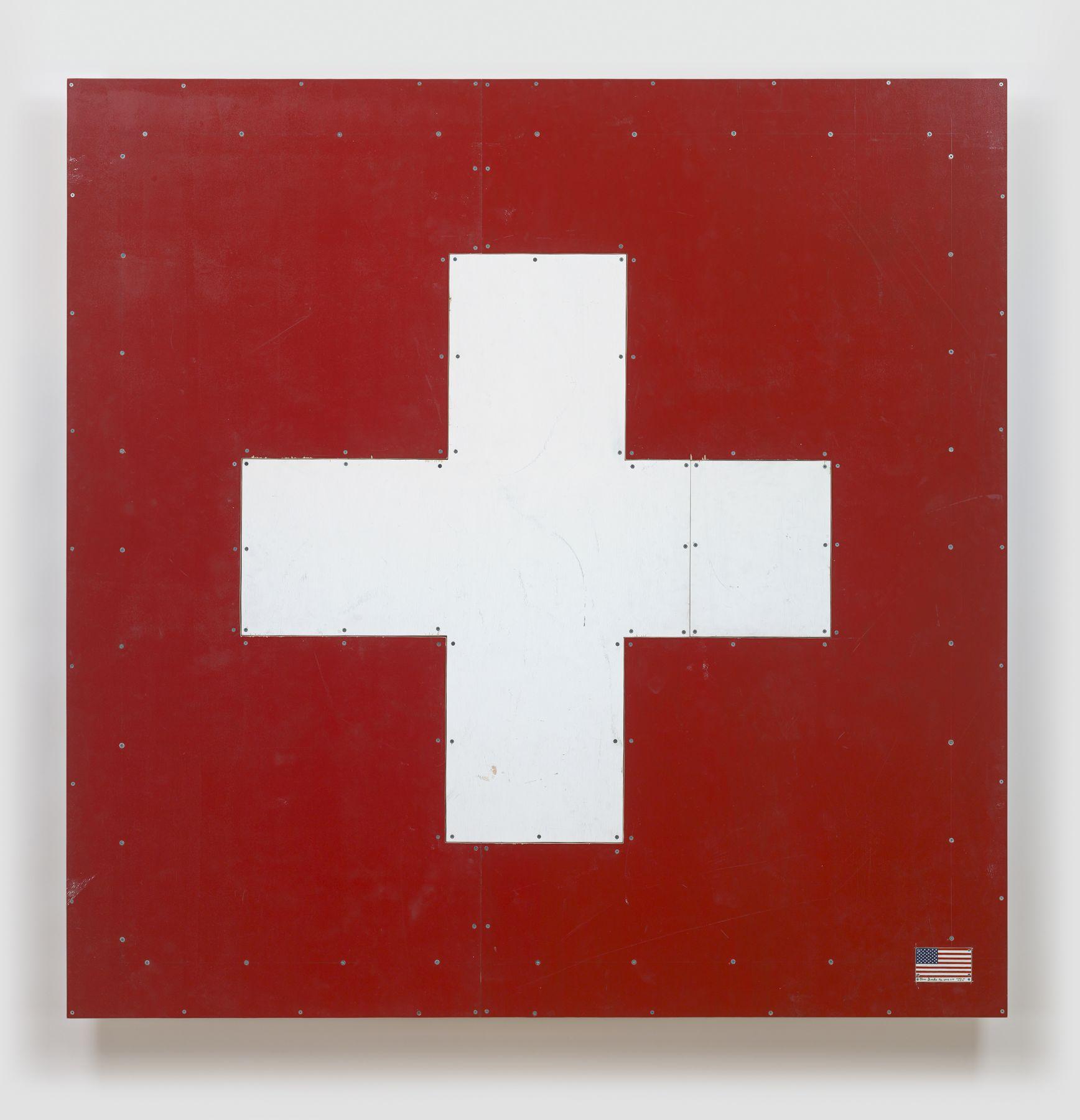 Tom Sachs, Swiss Flag, 2018