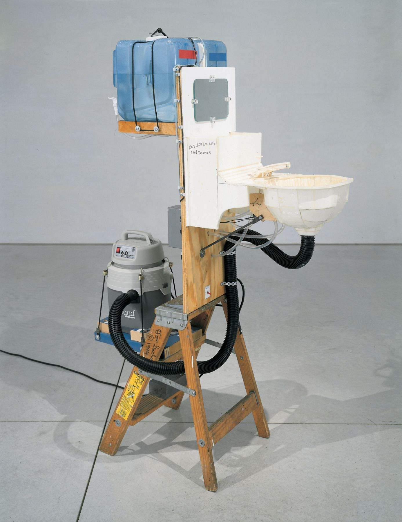 Tom Sachs,â€‹Logjam, Des Moines Art Center, Des Moines, IA, 2007