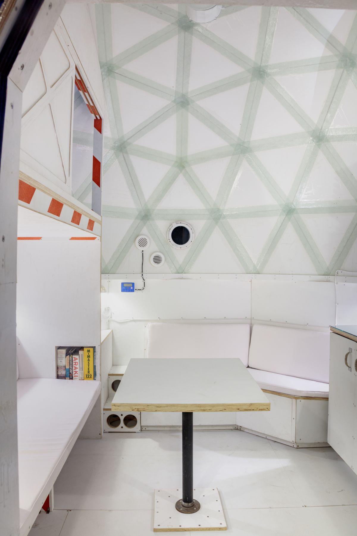 Interior view, Tom Sachs,Building #3,2018