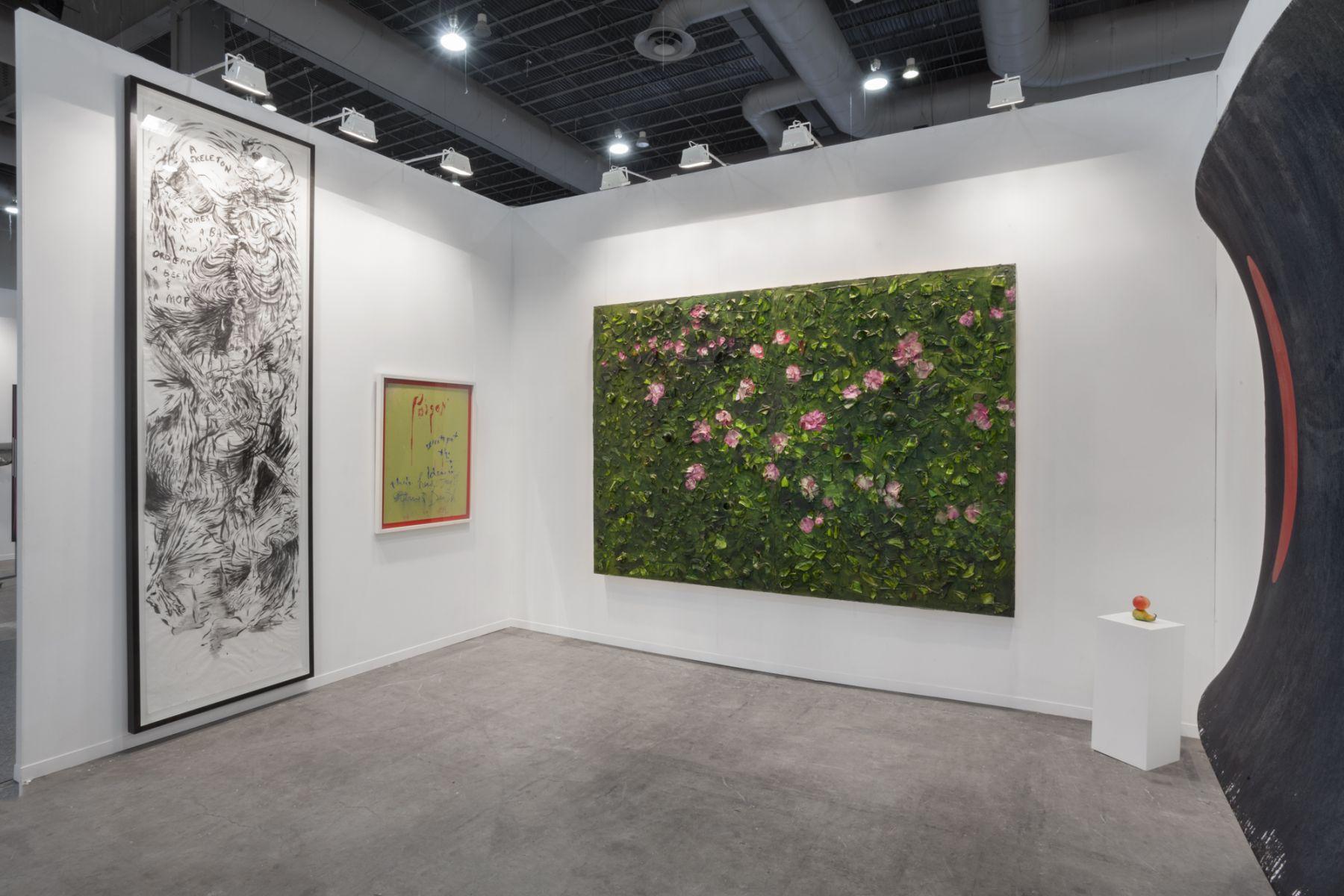 Installation view, Zona Maco, Mexico City, Vito Schnabel Gallery, St. Moritz,2018