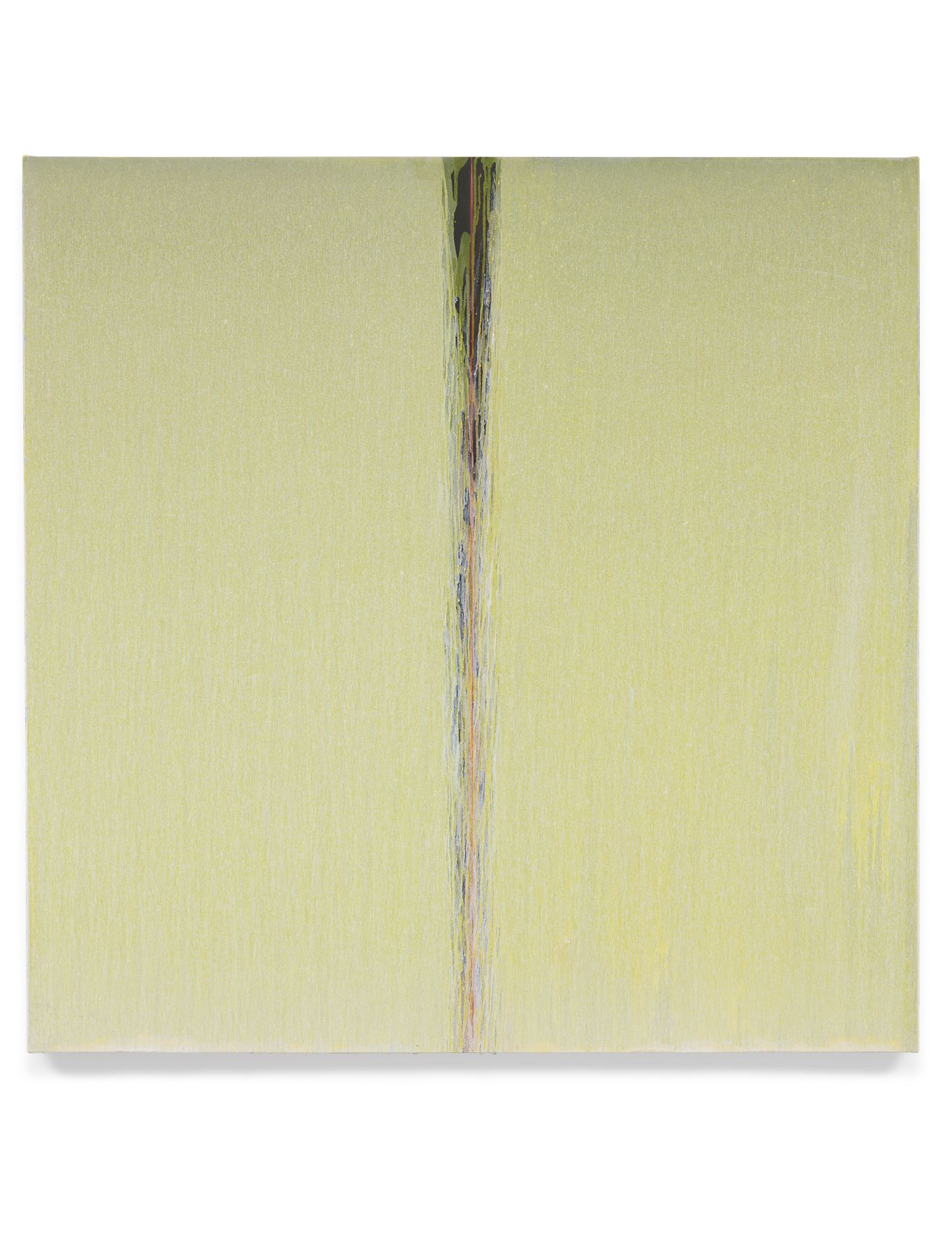 Pat Steir  Yellow, 2018