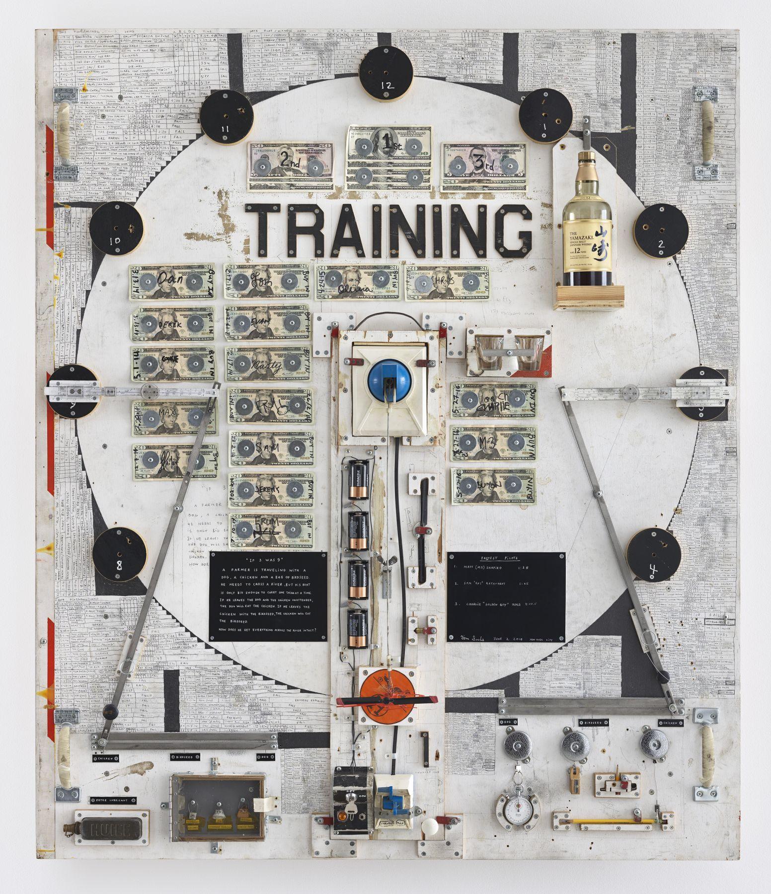 Tom Sachs, Training, 2011-2016