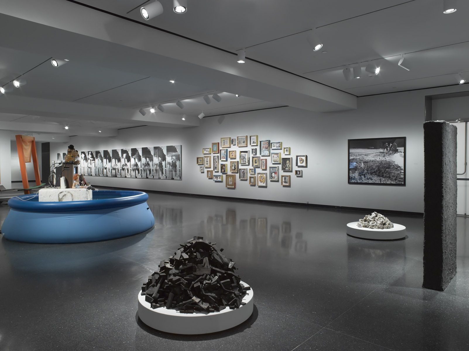 Installation view, The Bruce High Quality Foundation, Ode to Joy: 2001-2013, Brooklyn Museum, Brooklyn, 2013