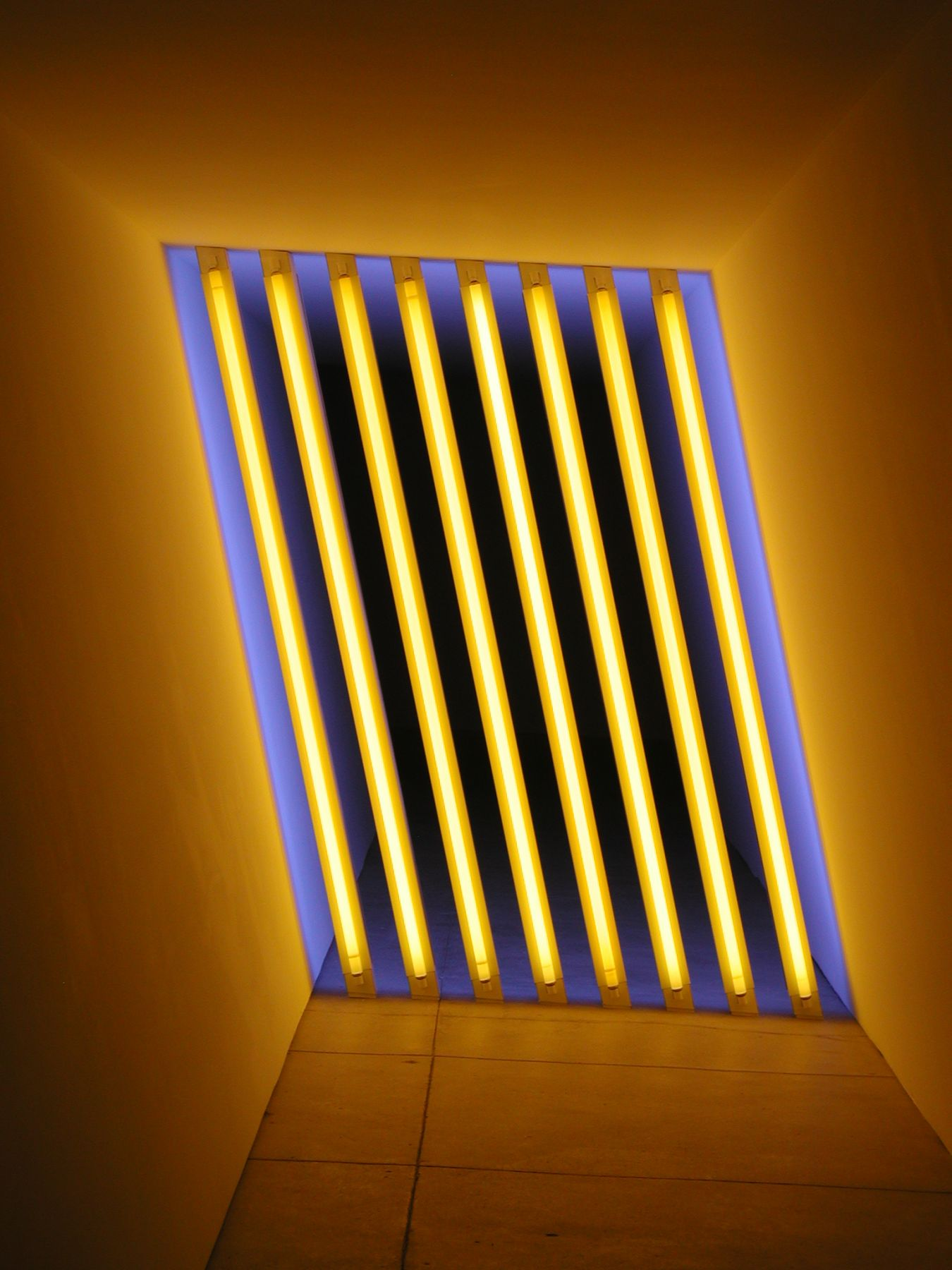 Dan Flavin untitled (Marfa project), 1996