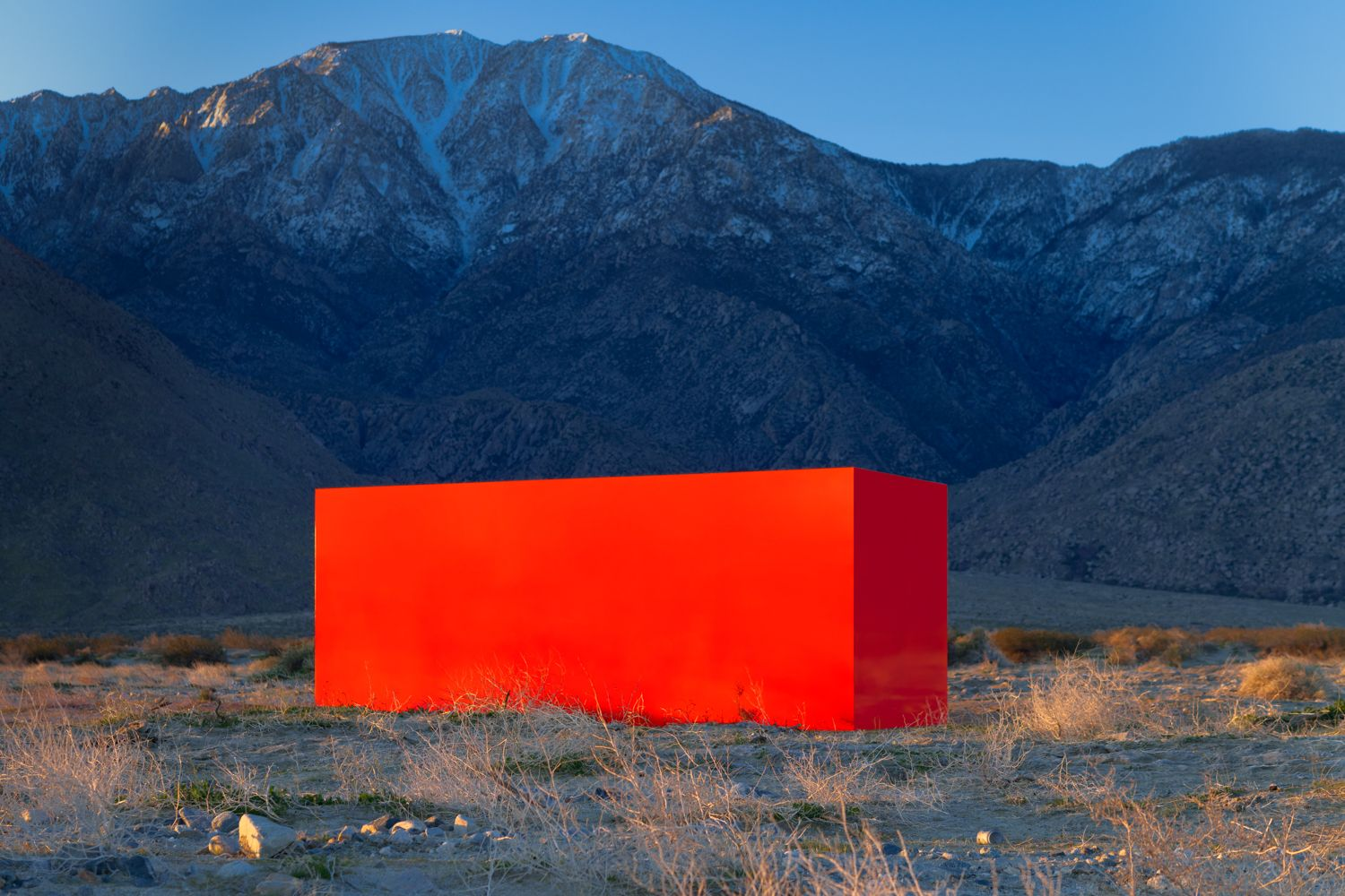 Installation view, Sterling Ruby, Desert X, Coachella Valley, California, 2019