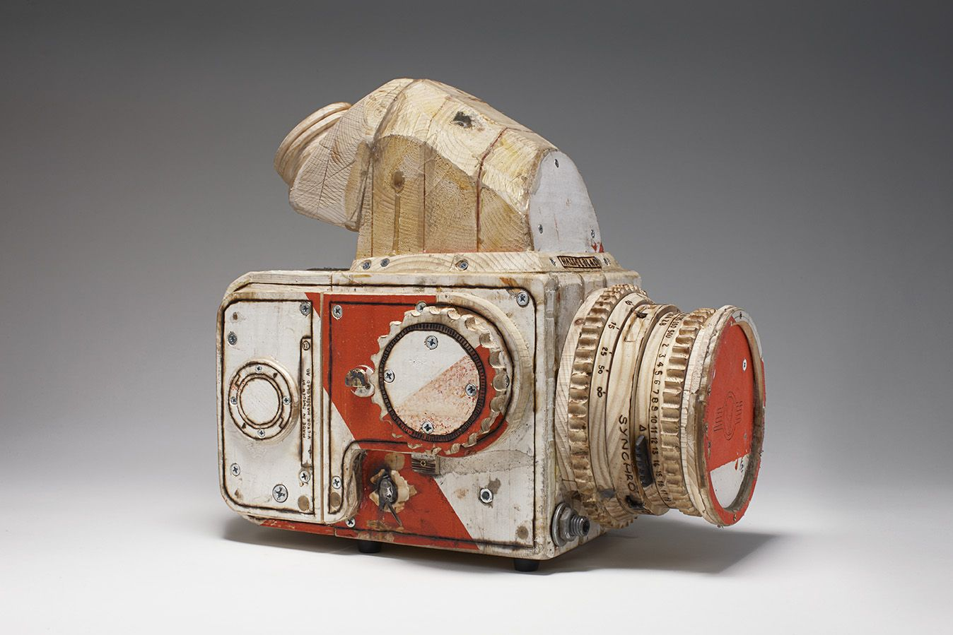 Tom Sachs, Cameras, Aldrich Contemporary Art Museum, Ridgefield, CT, 2009