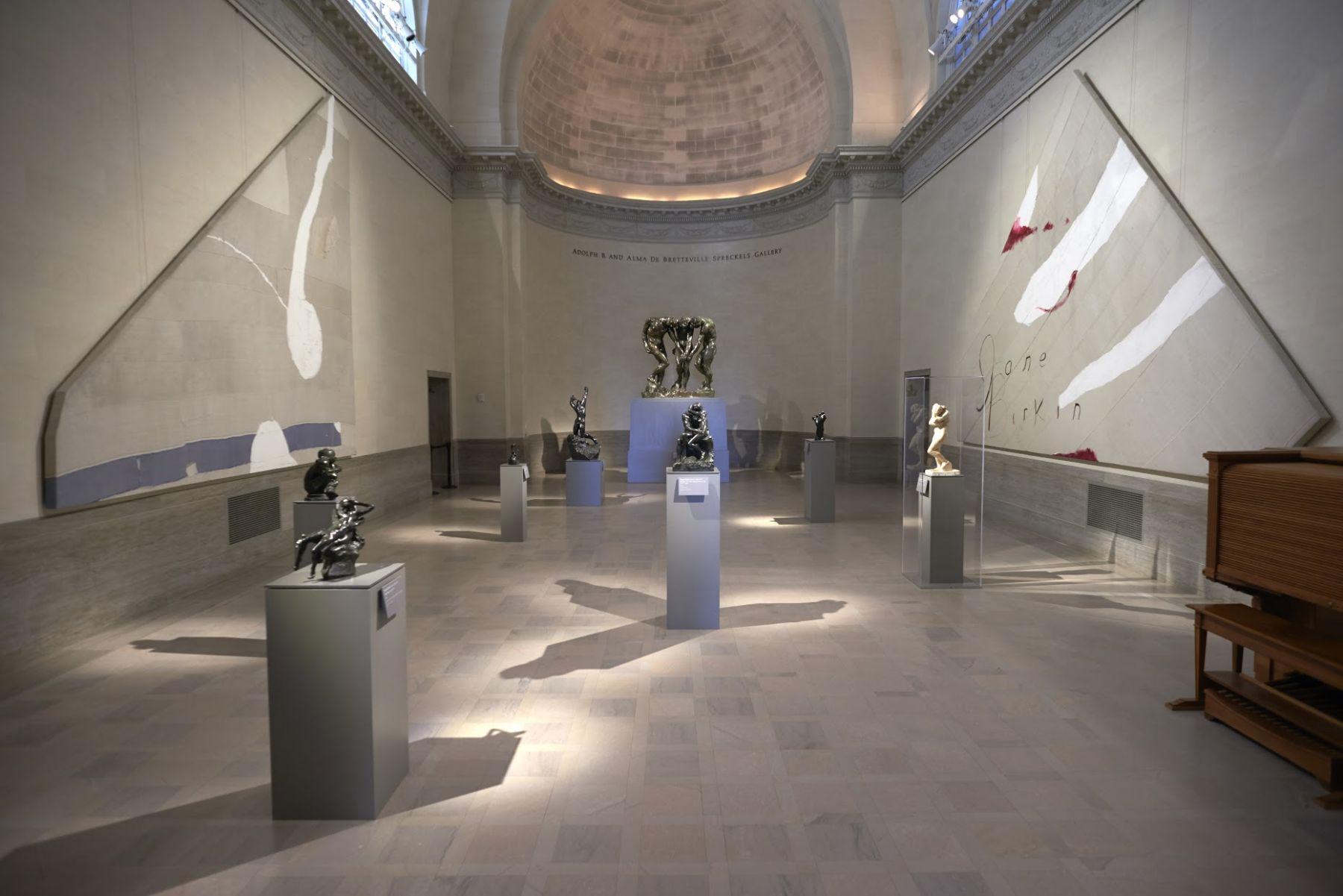 Installation view,Julian Schnabel: Symbols of Actual Life, Legion of Honor, San Francisco, 2018