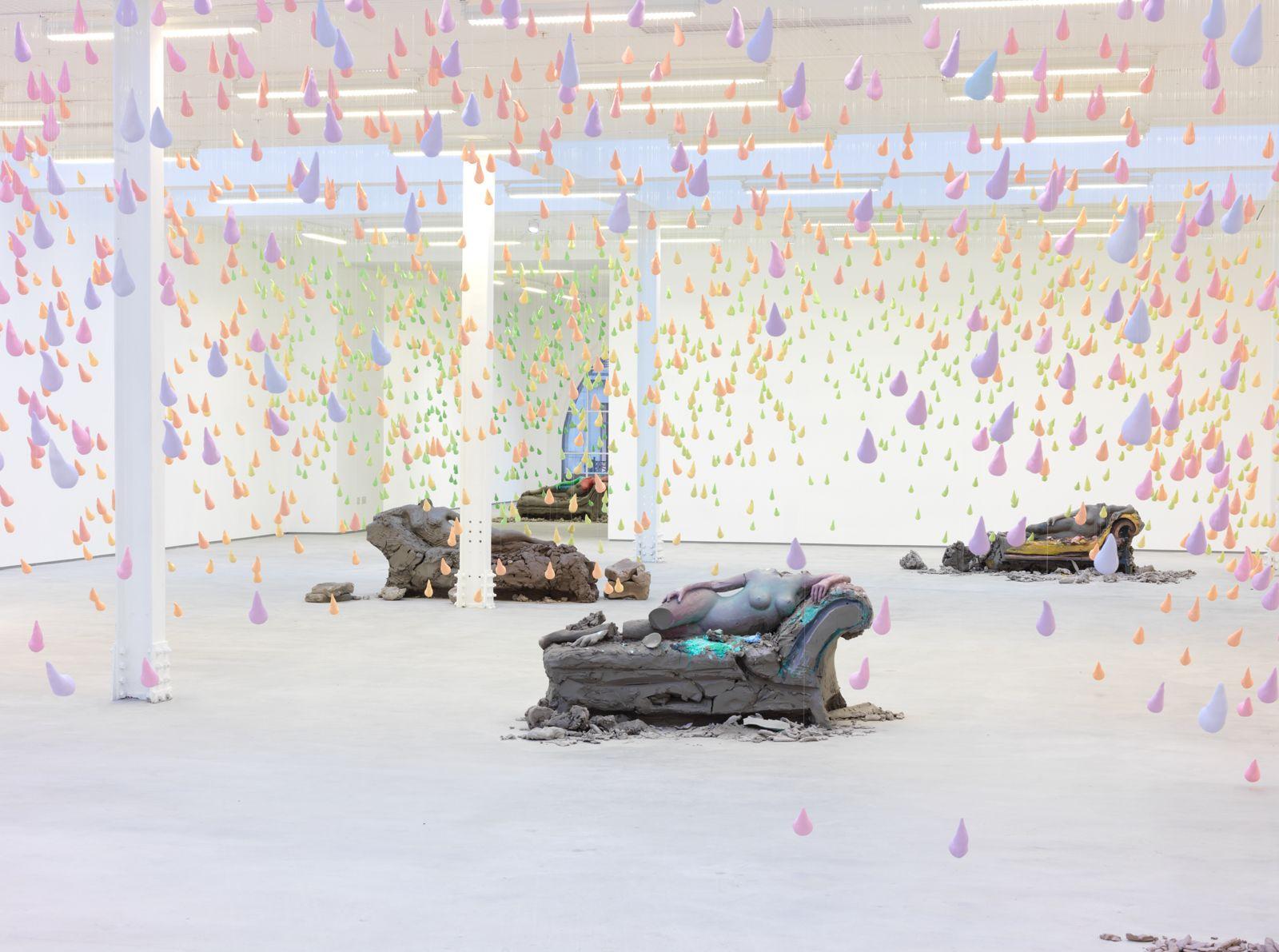 Installation view, Urs Fischer:Sadie Coles HQ, London, United Kingdom,2013-2014
