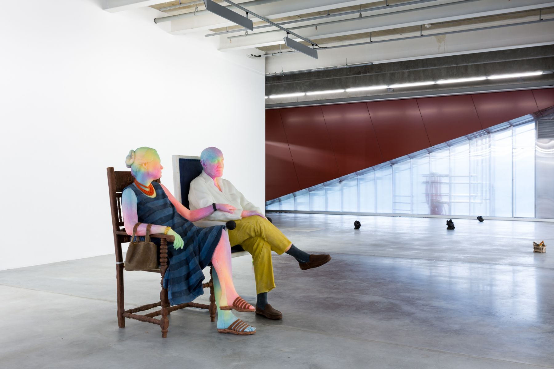 Installation view, Urs Fischer,Small Axe, Garage Museum of Contemporary Art, Moscow, Russia, 2016