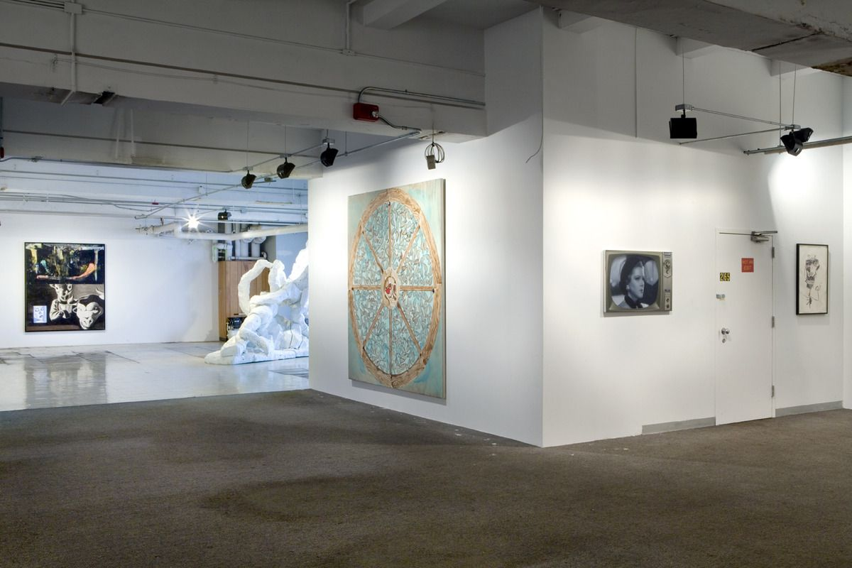 Installation view, Group Show,DSM-V, New York, 2013