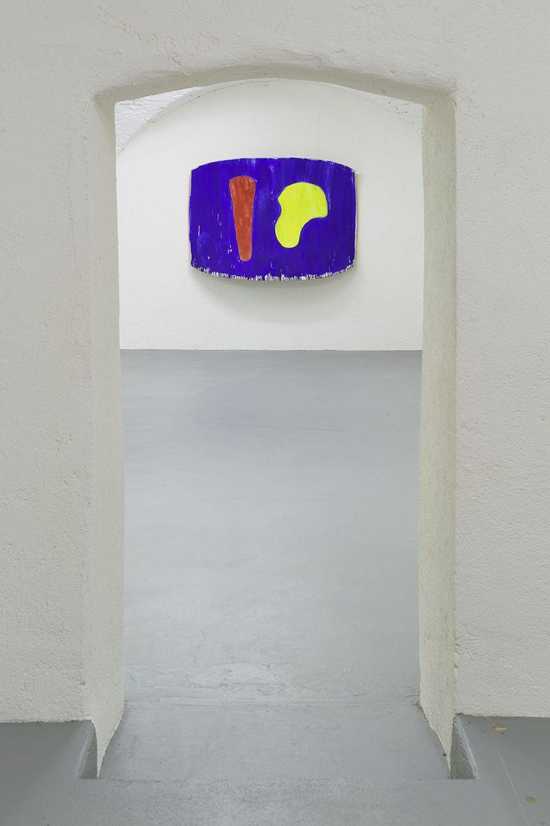 Installation view, Ron Gorchov:Concord,Vito Schnabel Gallery, St. Moritz, 2016