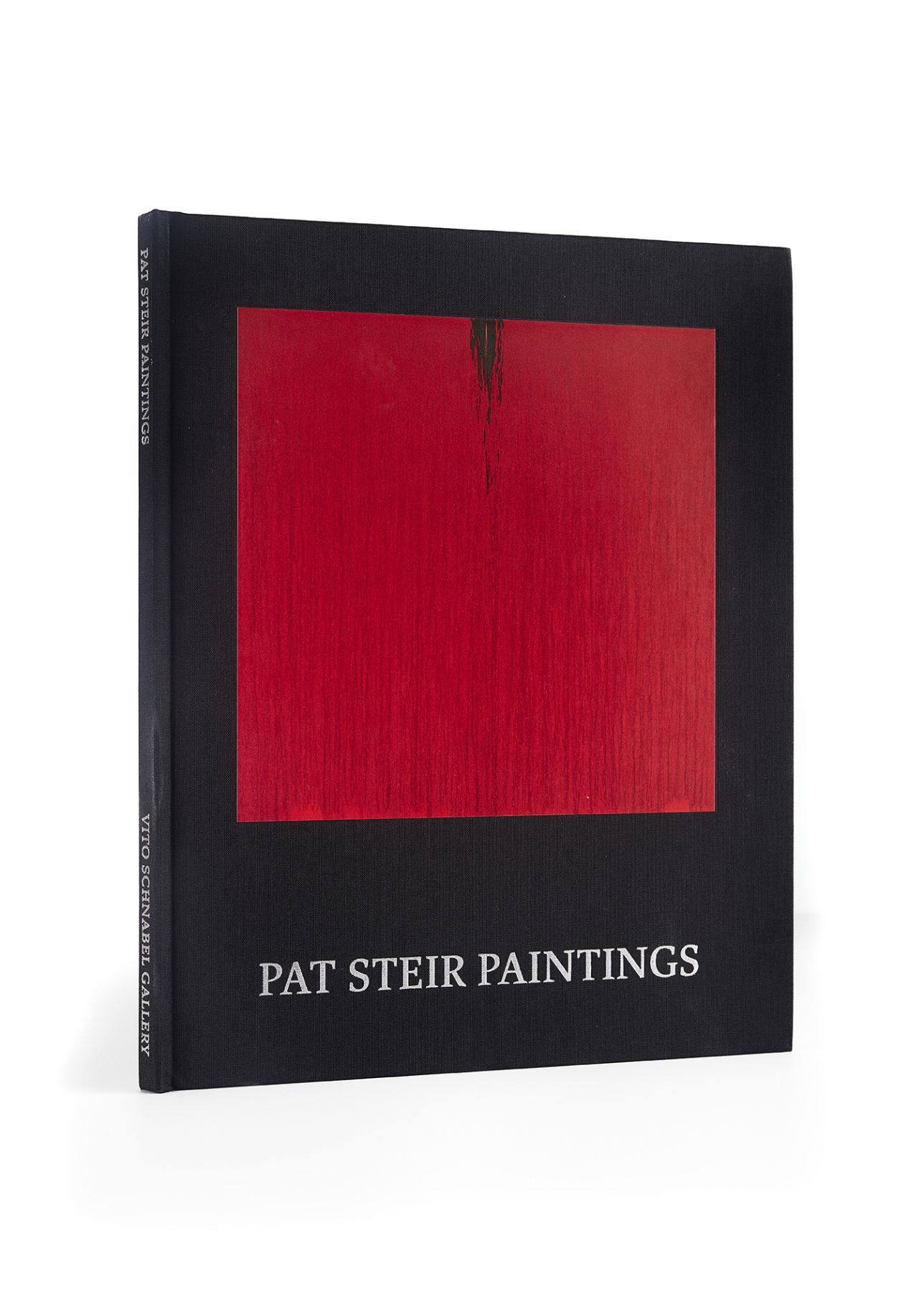 Image of Pat Steir: Paintings Catalogue side