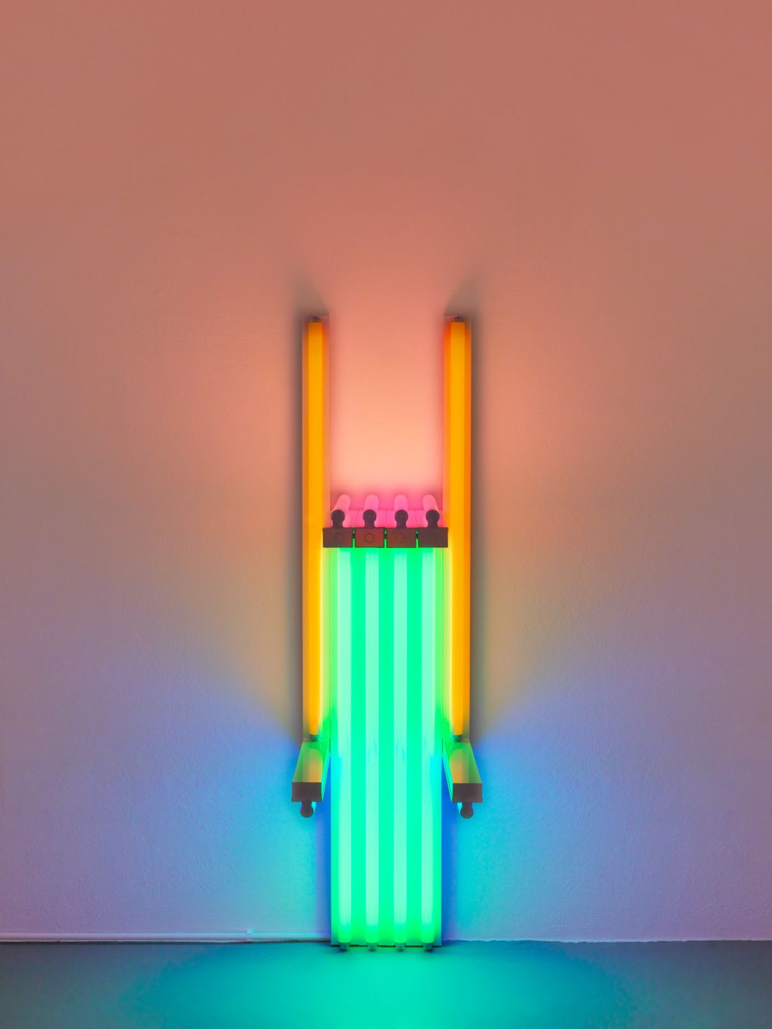Dan Flavin untitled (to Lucie Rie, master potter) 1y, 1990