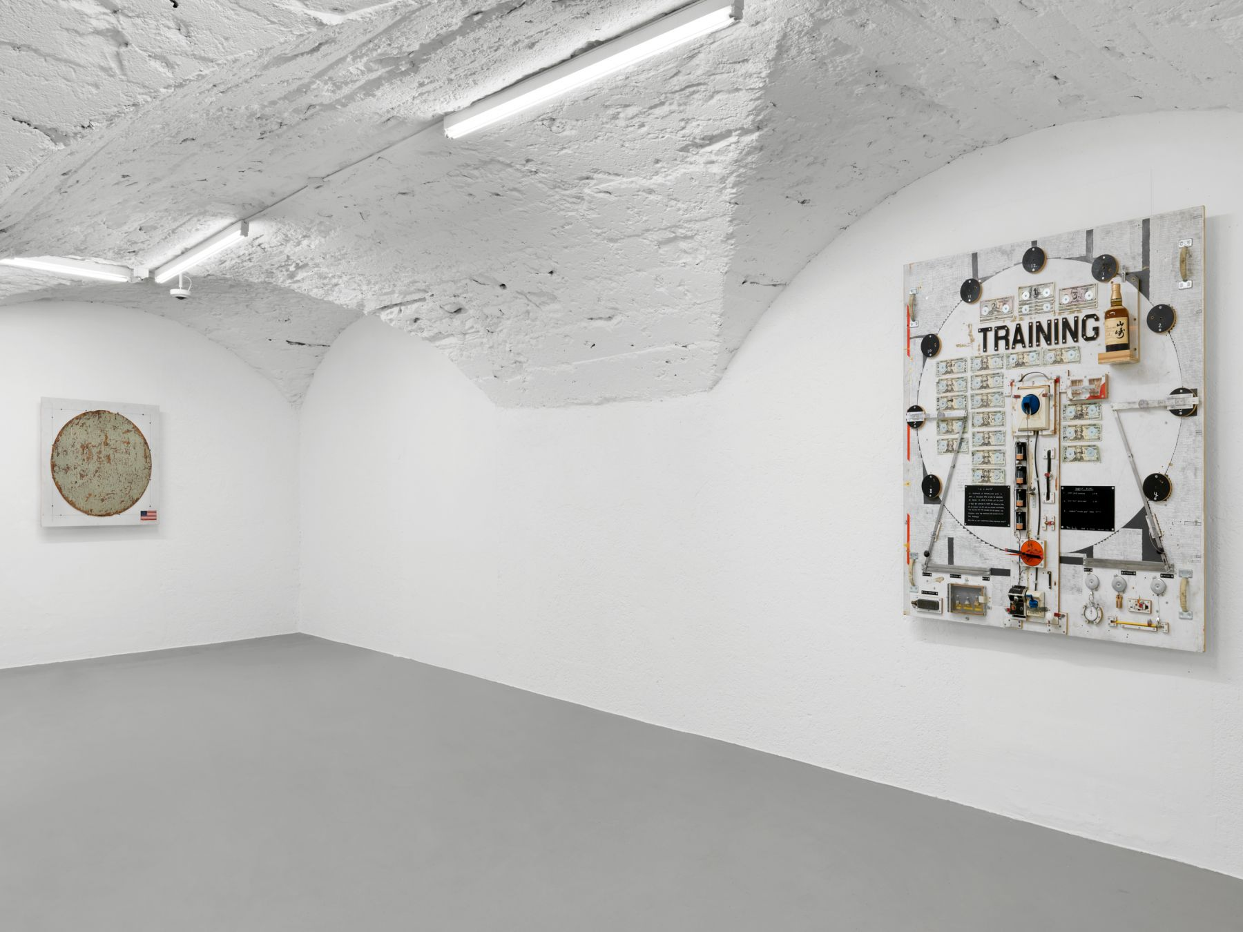 Installation view,Tom Sachs,The Pack,Vito Schnabel Gallery, St. Moritz, 2018-2019, © Tom Sachs; Photos by Stefan Altenburger; Courtesy Tom Sachs Studio and Vito Schnabel Gallery