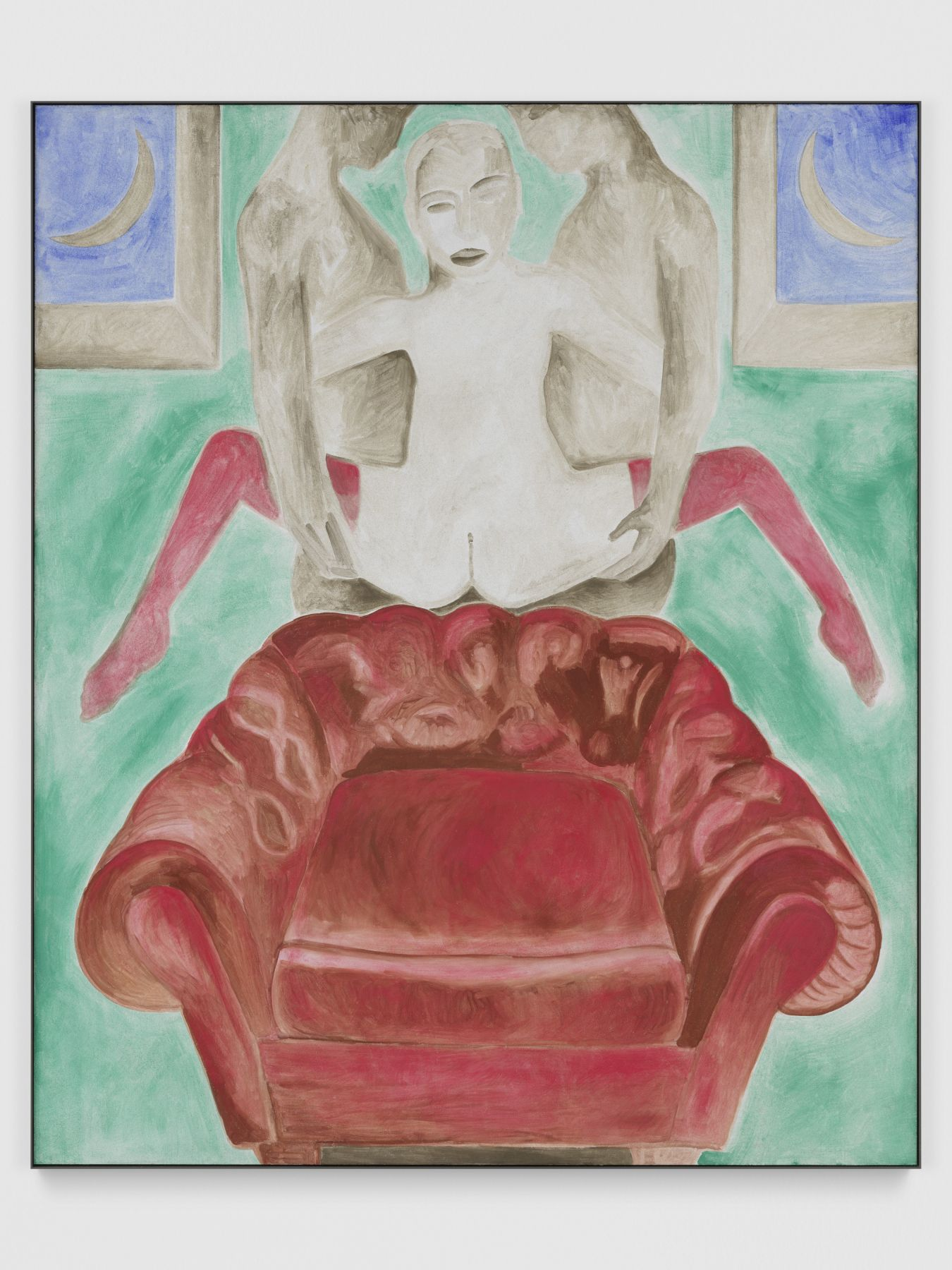 Francesco Clemente, Aspects of the Moon VII