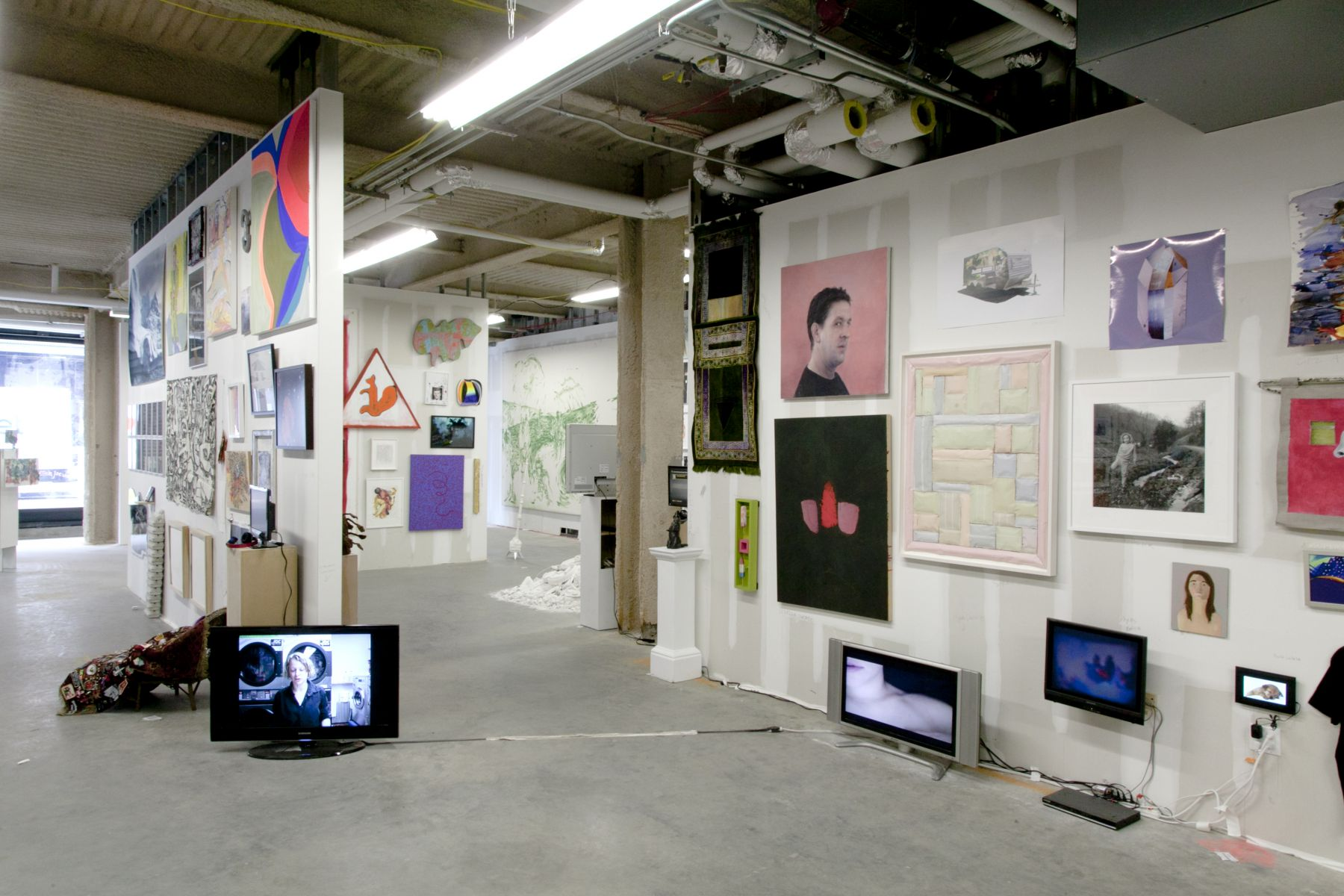 Installation view, The Bruce High Quality Foundation, The Last Brucennial, New York, 2014