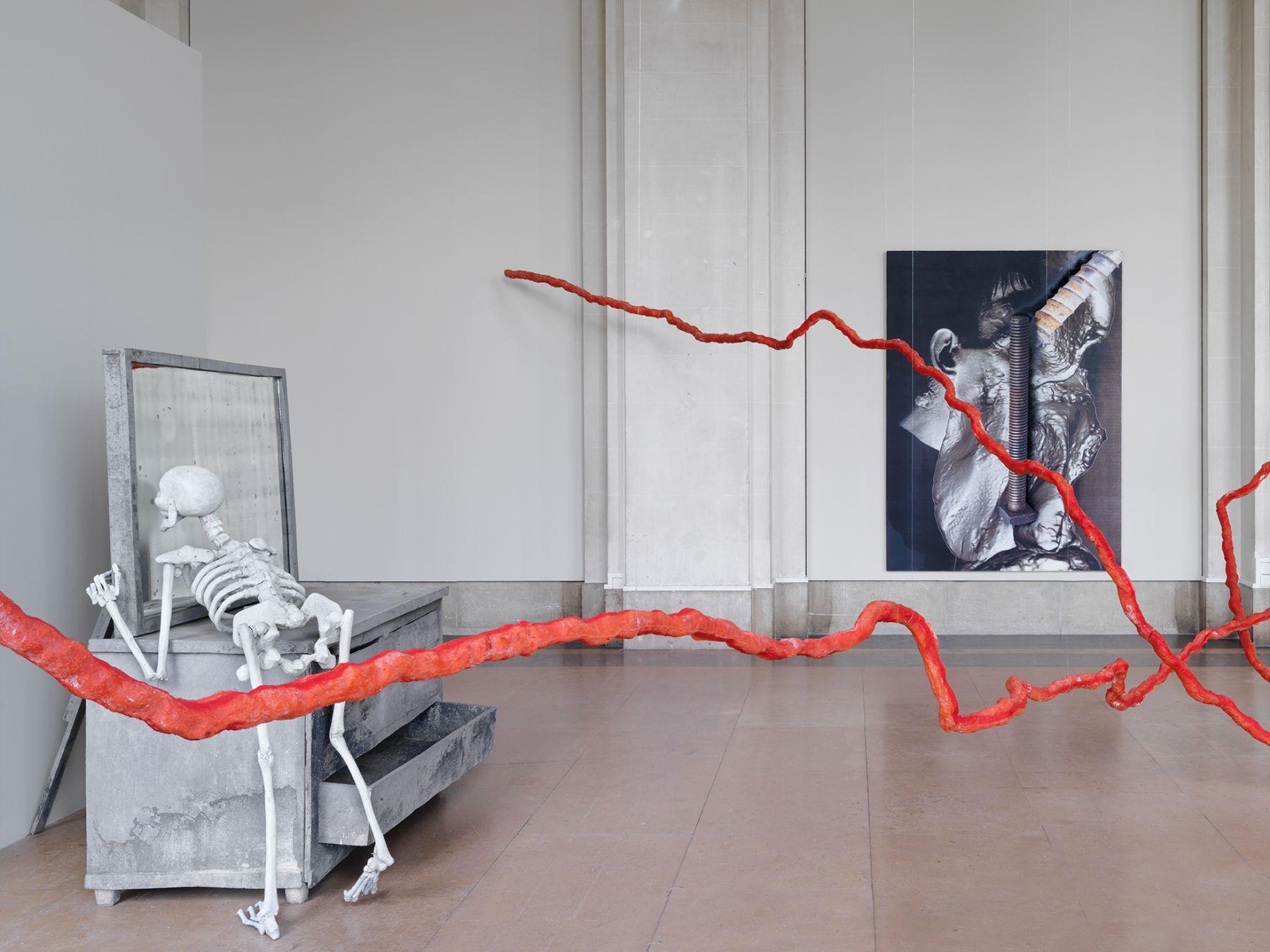 Installation view,Urs Fischer – False Friends,Museum of Art and History of Geneva, Austria, 2016