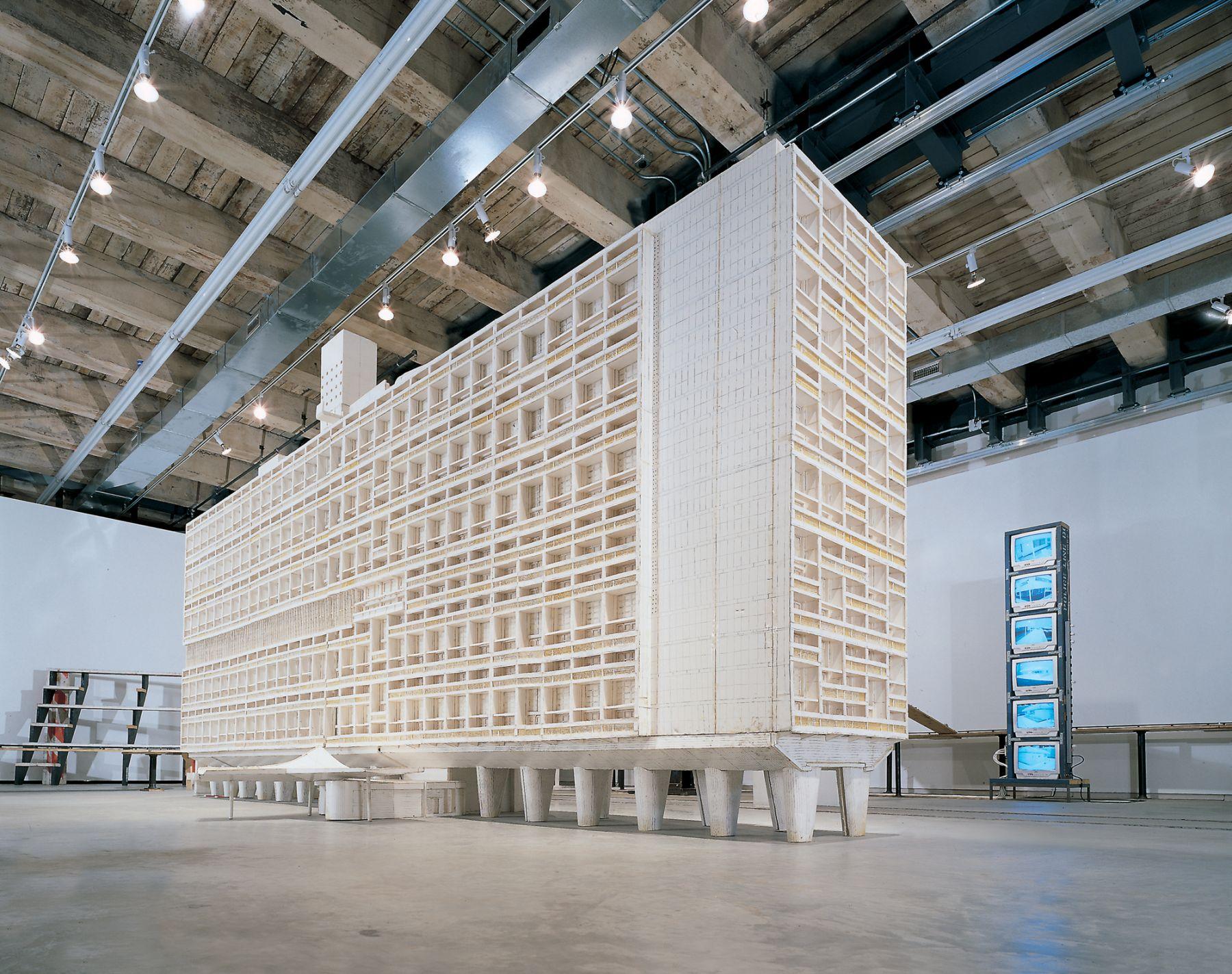 Installation view, Tom Sachs,Nutsy's, Deutsche Guggenheim, Berlin, Germany, 2003