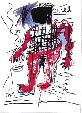 JEAN-MICHEL BASQUIAT Untitled, 1982