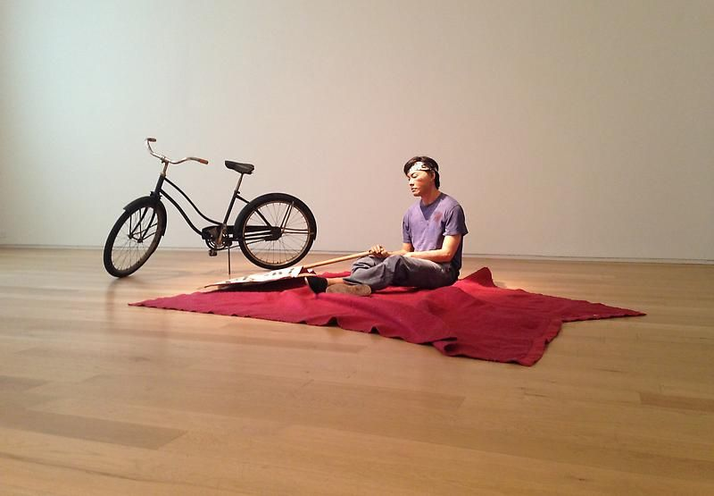 DUANE HANSON's CHINESE STUDENT, 1989: Remembering Tiananmen Square, Van de Weghe Fine Art
