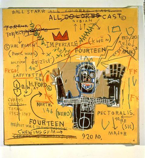 JEAN-MICHEL BASQUIAT All Colored Cast I, 1982