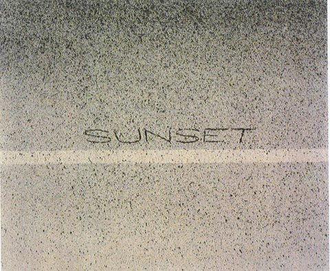 ED RUSCHA Above Sunset, 1999