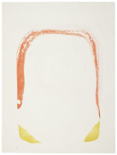 Helen Frankenthaler, Orange Hoop, 1965.