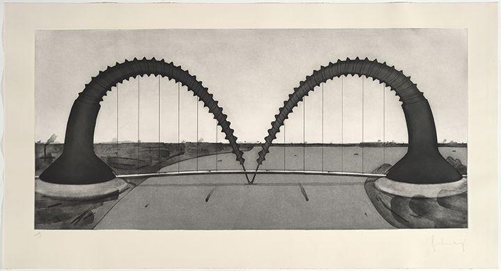 Claes Oldenburg Screwarch Bridge (State II), 1980