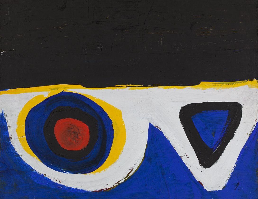 Al Held Untitled(G-60-04), 1959