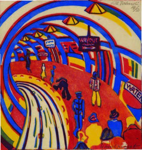 Lill Tschudi,Underground, 1930.