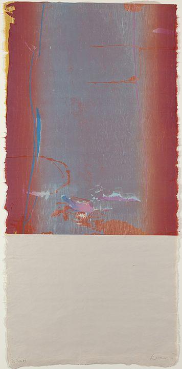 Helen Frankenthaler Essence Mulberry State I, 1977