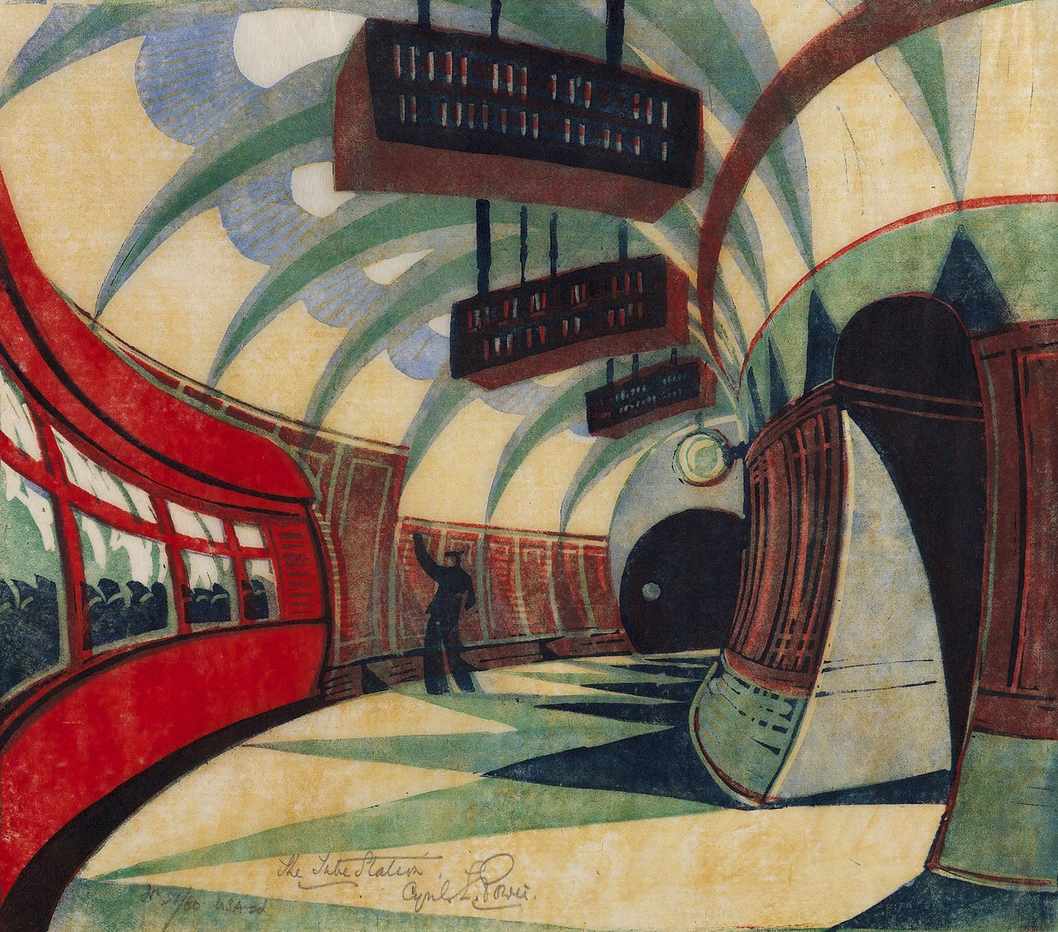 Cyril Power, The Tube Station, c. 1932.