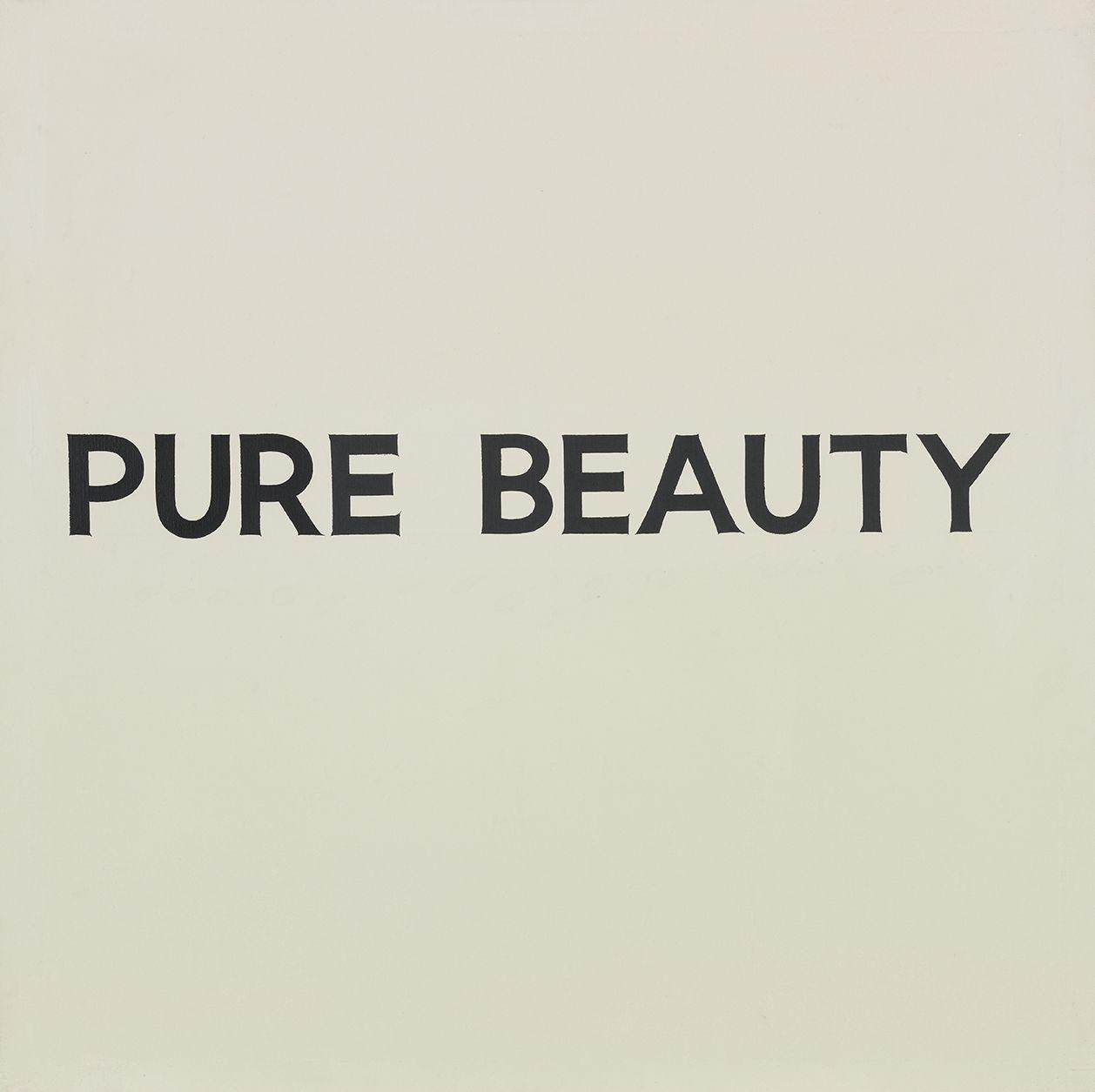 John Baldessari Pure Beauty, 1966-68