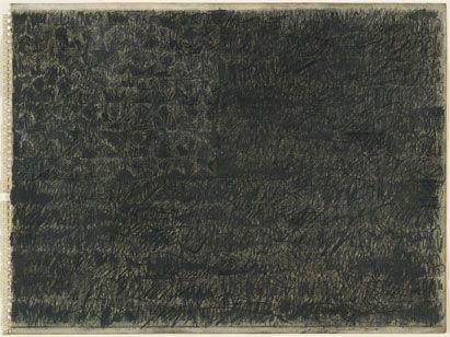 Jasper Johns, Flag, 1959.
