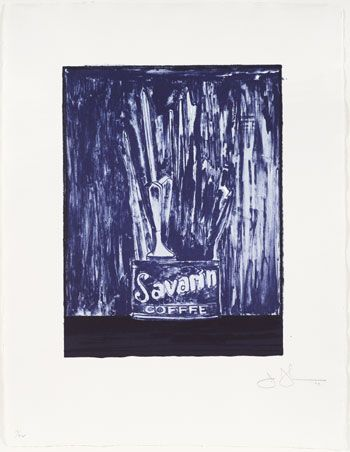 Jasper Johns, Savarin 6, 1979.