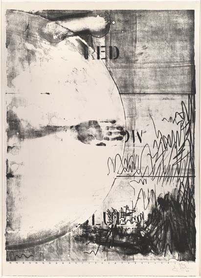 Jasper Johns, Hatteras, 1963.