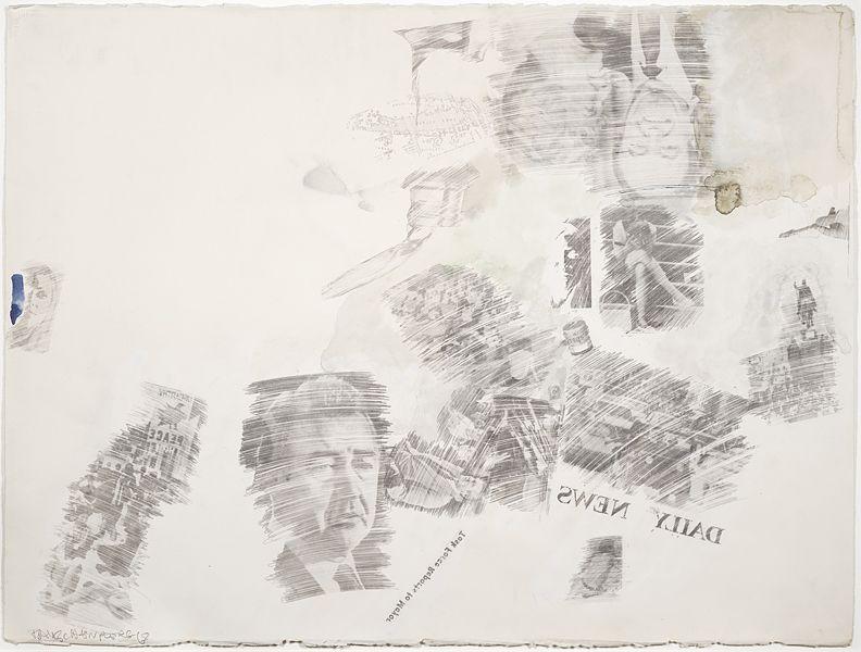 Robert Rauschenberg Political Folly, 1968